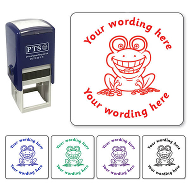 Personalised Frog Stamper (25mm)