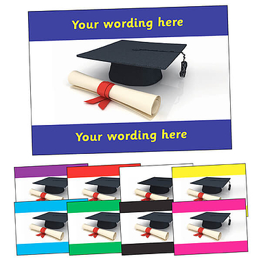 Personalised Graduation Postcard (A6)