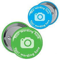 Personalised Image Badges (10 Badges)