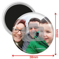 Personalised Image Magnets (10 Magnets - 38mm)