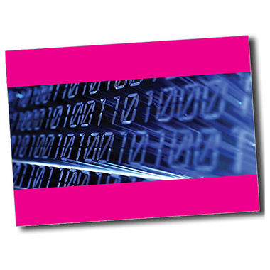 Personalised IT Postcard - Pink (A6)