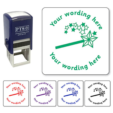 Personalised Magic Wand Stamper (25mm)