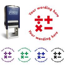 Personalised Maths Stamper (25mm)