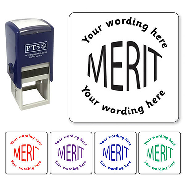 Personalised Merit Stamper (25mm)