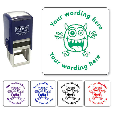 Personalised Monster Stamper (25mm)