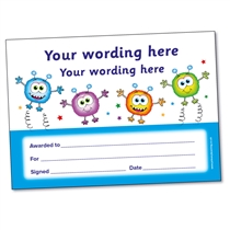 Personalised Monsters Certificate (A5)