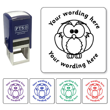 Personalised Owl Stamper (25mm)