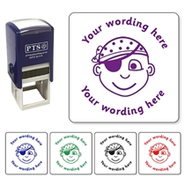 Personalised Pirate Stamper (25mm)
