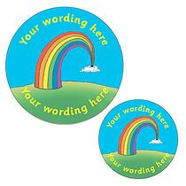 Personalised Rainbow Stickers