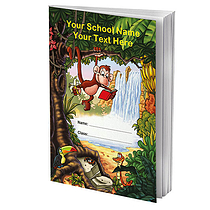 Personalised Reading Record Book - Jungle (A5 - 40 Pages)