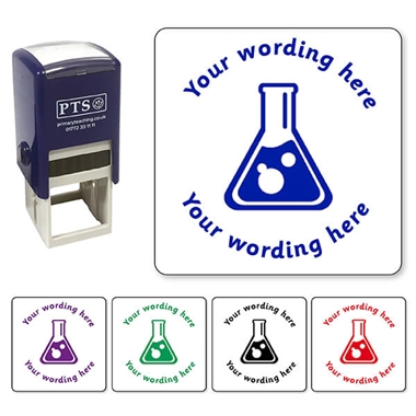 Personalised Science Stamper (25mm)