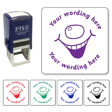 Personalised Smiley Stamper (25mm)