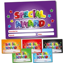 Personalised Special Award Certificate (A5)
