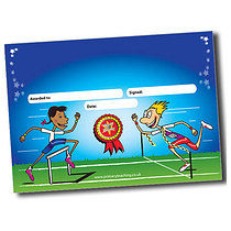 Personalised Sports Day Certificate - A5