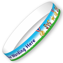 Personalised Sports Day Wristbands (5 per pack)