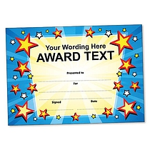 Personalised Star Certificate (A5) Brainwaves