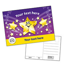 Personalised Star Postcard (A6)