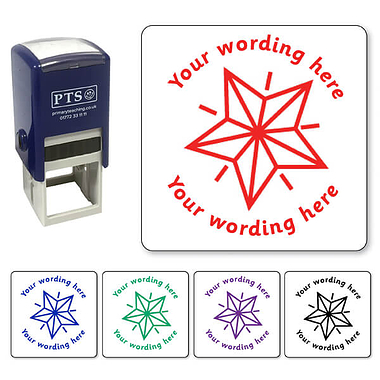 Personalised Star Stamper (25mm)