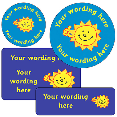 Personalised Sun Stickers
