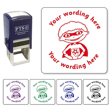 Personalised Superboy Stamper (25mm)
