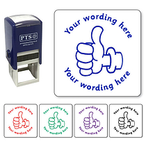 Personalised Thumbs Up Stamper (25mm)