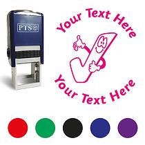 Personalised Tick Stamper (25mm)