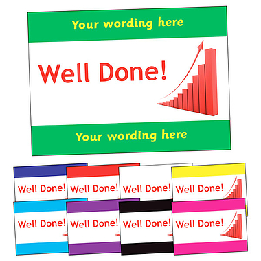 Personalised Well Done Postcard (A6)