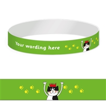 Personalised Wristbands - Pedagogs - Cat (5 Wristbands)