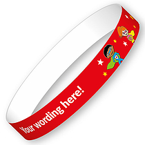 Personalised Wristbands - Superheroes (5 Wristbands - 15mm x 250mm)