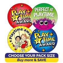 Playtime Award Stickers (32mm) Brainwaves