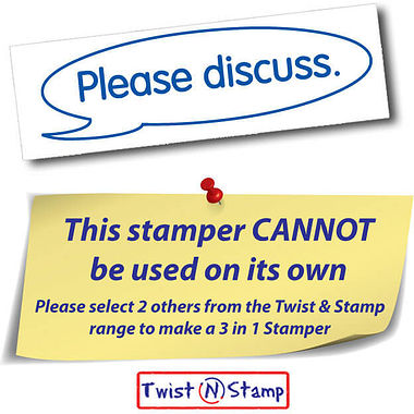 Please Discuss Stamper - Twist N Stamp