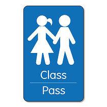 Portrait Class Pass - Plastic Class Pass (10 Wallet Size Cards)