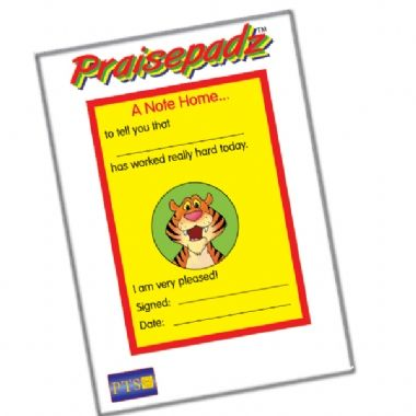 Worked Really Hard Praisepadz - Note Home Tiger (60 Pages - A6)