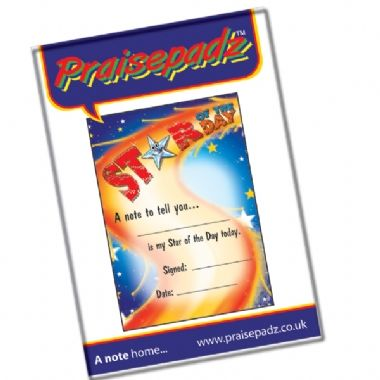 Star of the Day Praisepadz - (60 Pages - A6)