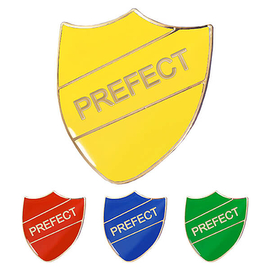 Prefect Enamel Badge (30mm x 26.4mm)