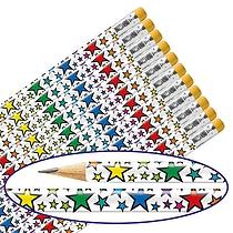 Rainbow Stars  Pencils (Pack of 12)
