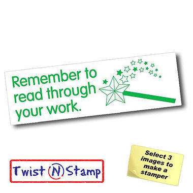Read Through Your Work Stamper - Twist N Stamp