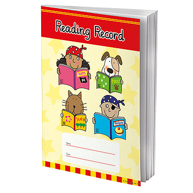 Reading Record Book - Pedagogs (A5 - 48 Pages)