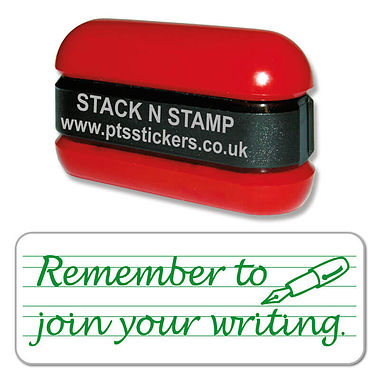 Remember to Join Your Writing Stamper - Stack N Stamp