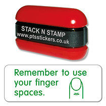 Remember to Use Your Finger Spaces Stamper - Stack N Stamp