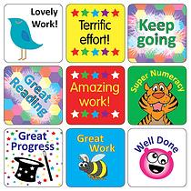 Reward Stickers (35 Stickers - 20mm)