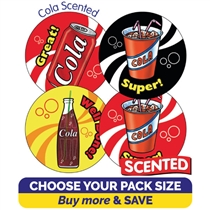 Scented Cola Stickers (32mm)