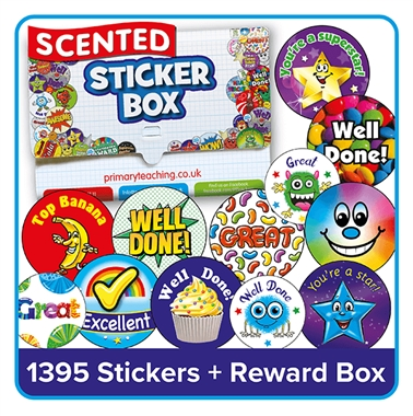 Scented Stickers Value Pack (840 Stickers - 37mm)