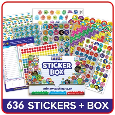 SECRET SANTA Sticker Starter Box (501 stickers)