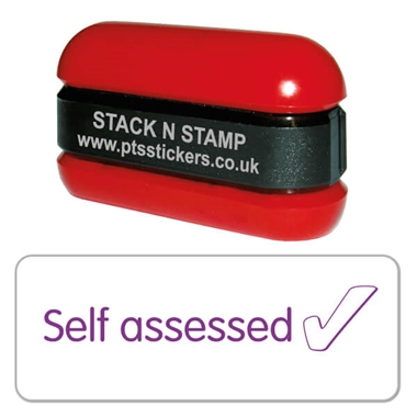 Self Assessed Tick Stamper - Stack N Stamp