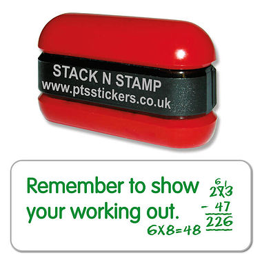 Show Your Working Out Stamper - Stack N Stamp