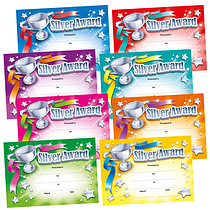Silver Award Megamix Certificates (48 Certificates - A5) Brainwaves