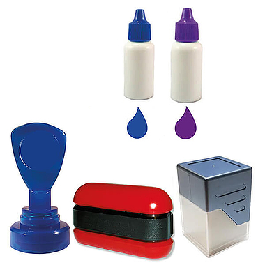 Ink Refill for Pre-Inked Stampers (10ml)
