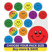 Smiley Stickers (10mm)