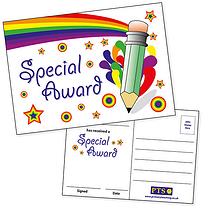 Special Award Postcards Home (20 Postcards - A6)